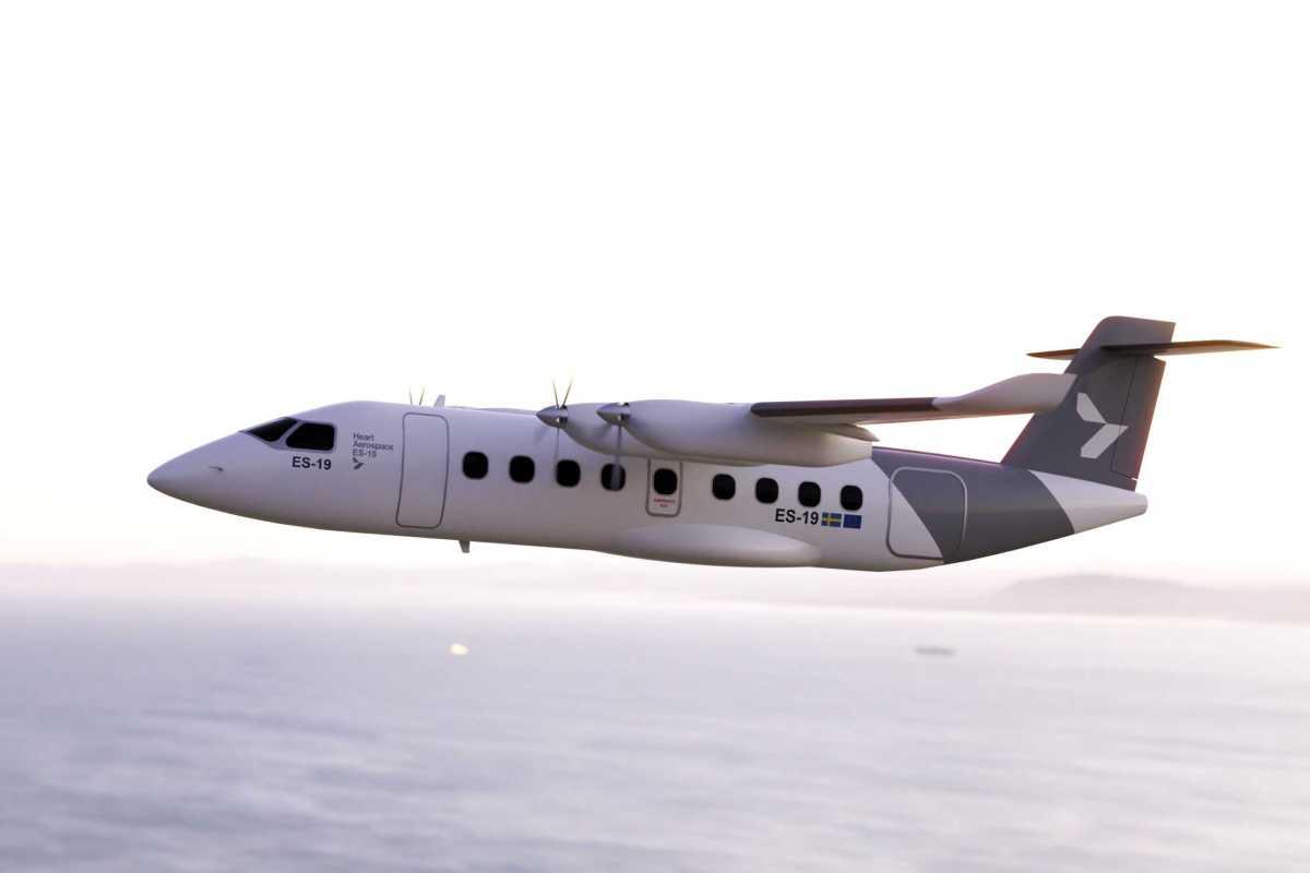 Laddat nytillskott – Heart Aerospace hälsas välkommen till Transportföretagen och Svenska Flygbranschen 1