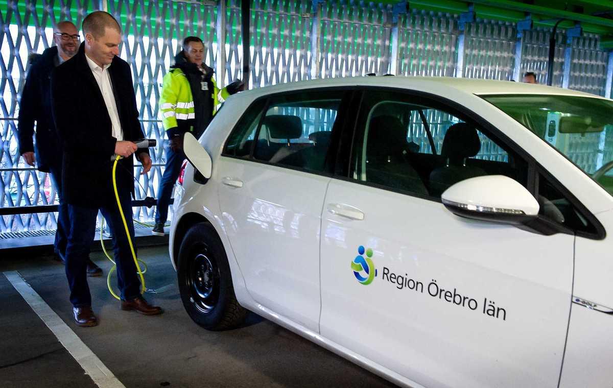 Nya parkeringshuset vid USÖ har öppnat - hållbarhetstanken viktig 1