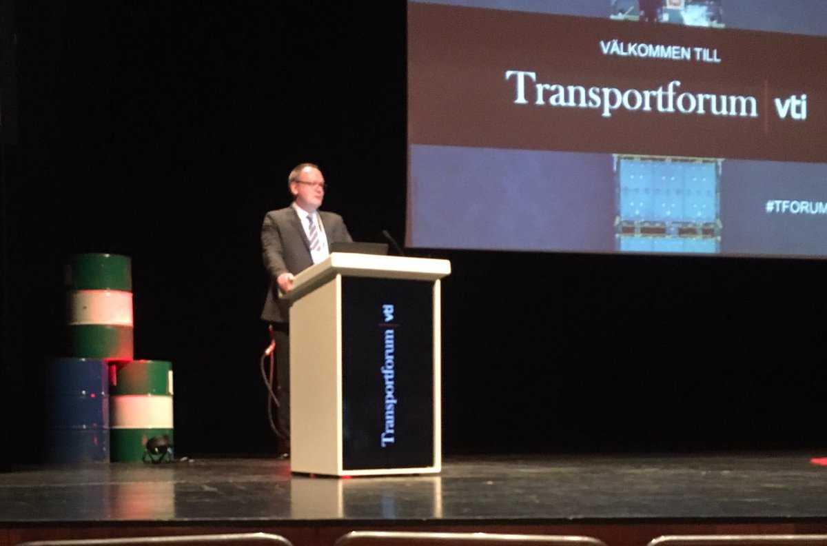 Transporteffektivitet och klimat inleder årets upplaga av Transportforum 1
