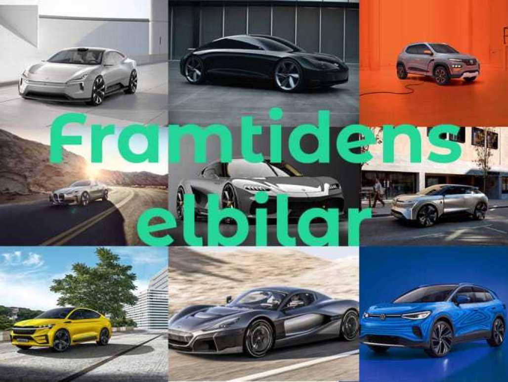 En titt på framtidens elbilar 1