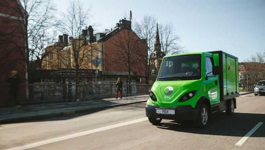 Inzile levererar Brings första ellastbil 1