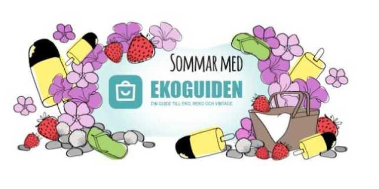 Sommar med Ekoguiden 2020 - din guide till sveriges gröna smultronställen! 1