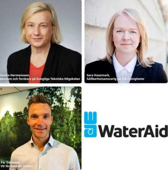 Tre nya styrelseledamöter till WaterAid 1