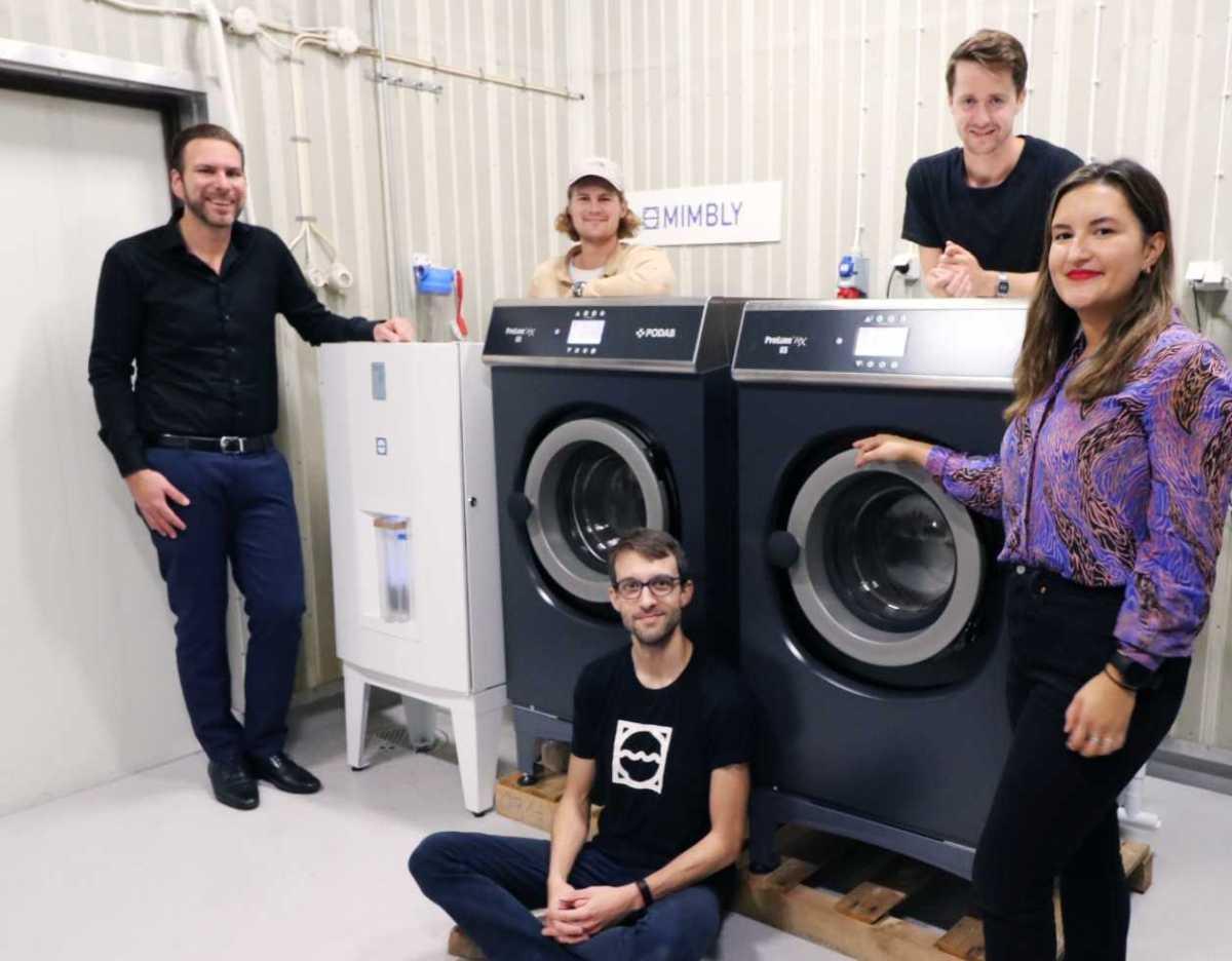 Mimbly och PODAB en ny, hållbar lösning för tvättstugan 1