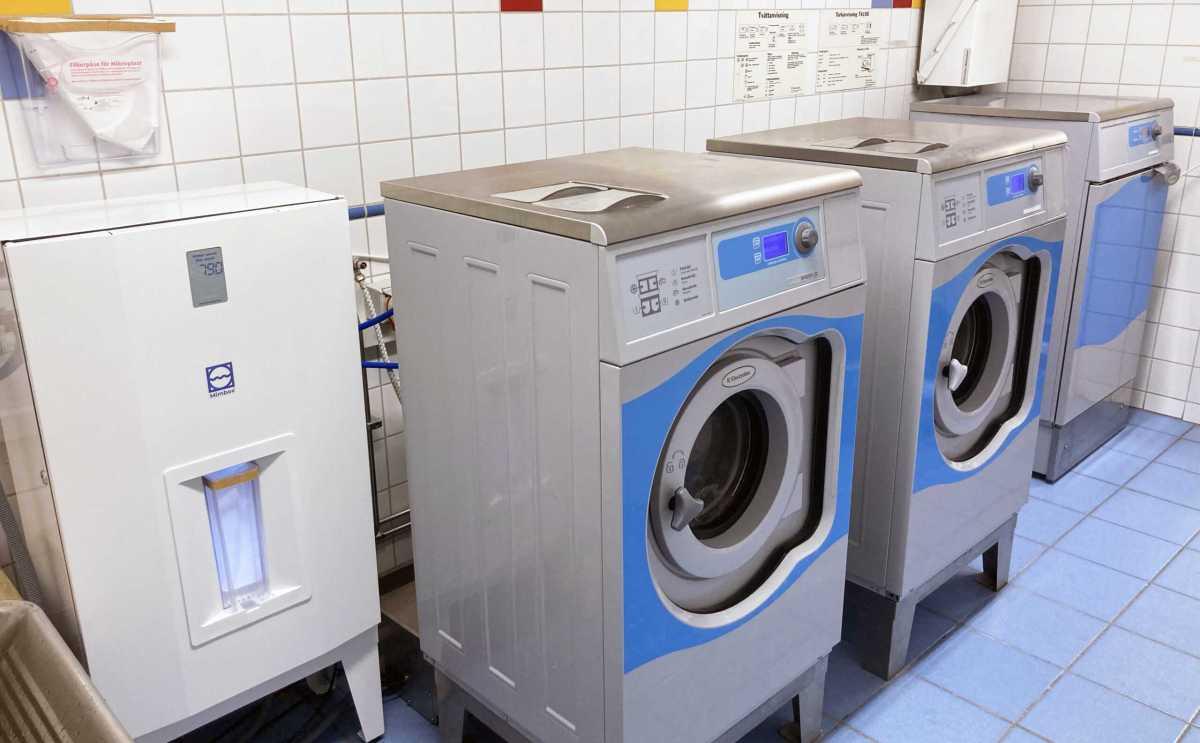 Bostadsbolagets hyresgäster tvättar miljövänligt med ny teknik