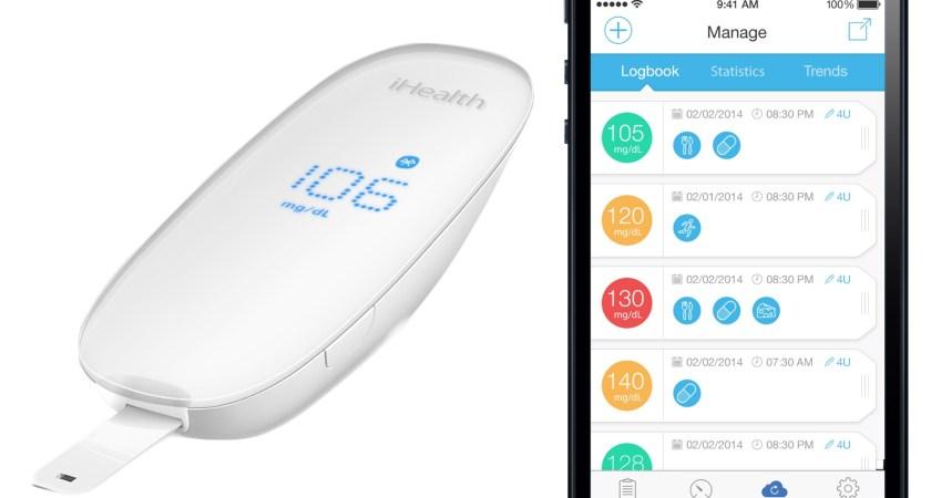 iHealth uppkopplade glukosmätare ska förenkla livet för diabetiker