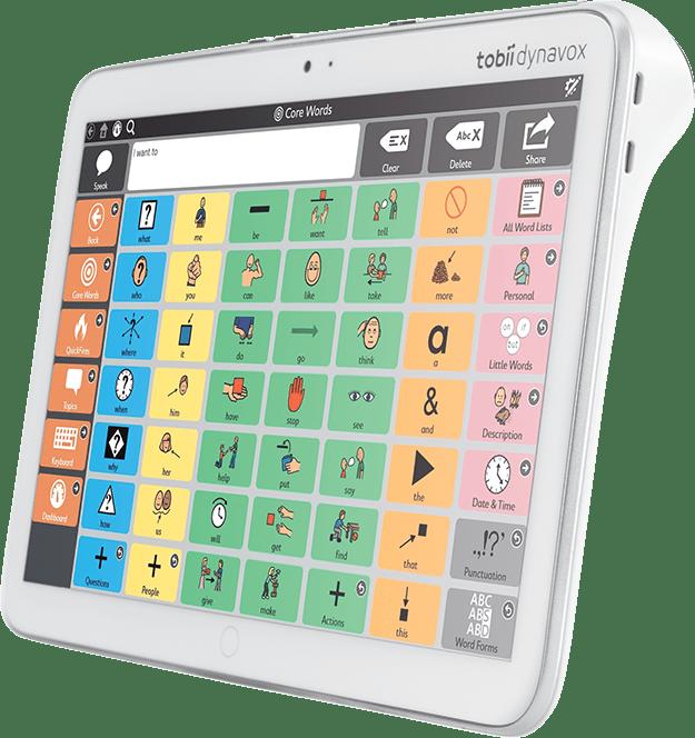 Tobii Dynavox introducerar Indi – en komplett surfplatta för tal- och kommunikation