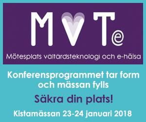 MVTe – Sveriges nationella mötesplats för välfärdsteknologi och e-hälsa