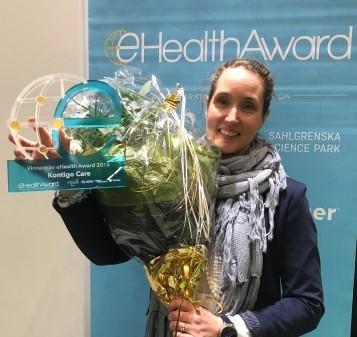 Pristet eHealth Award gick till Kontigo Care