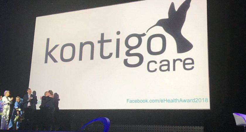 Kontigo Care vinnare av eHealth award 2018