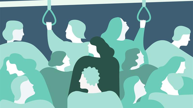 Endast en av tio tror att det är enkelt att få hjälp vid psykisk ohälsa