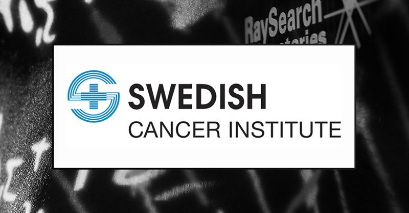 Swedish Cancer Institute väljer RayStation för sin dosplanering