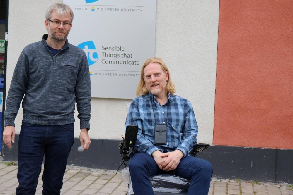 Ny teknik kan öka livskvalitet för personer i elektrisk rullstol