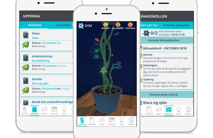 Appen som ska hjälpa unga genom en boendeprocess på HVB-hem
