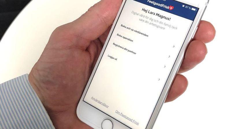 Feelgood lanserar ny digital vårdapp