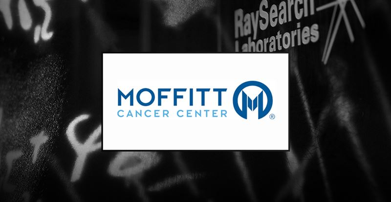 Moffitt Cancer Center, USA, väljer RayStation för dosplanering