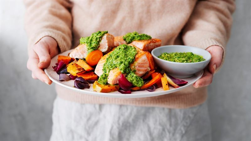 Recept och menyer baserade på blodprovsresultat