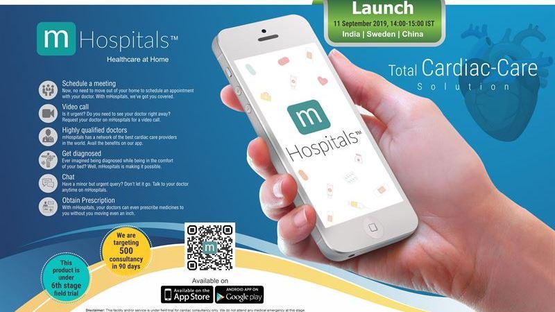 Virtuella läkarplattformen mHospitals lanseras nu i flera länder – ska utföra 500 hjärtkonsultationer på 90 dagar
