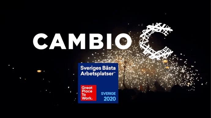Cambio är en av Sveriges bästa arbetsplatser!