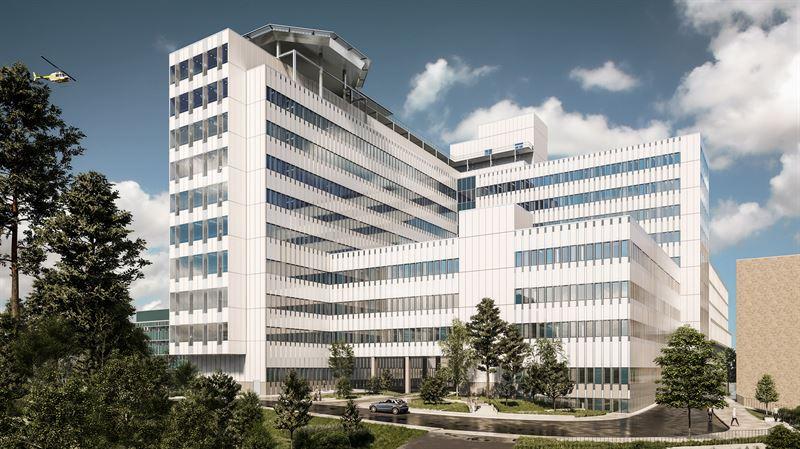 Ny vårdbyggnad planeras vid Danderyds sjukhus