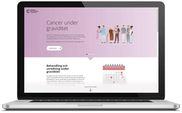 Ny webbutbildning ska öka vårdens kunskap om cancer och graviditet