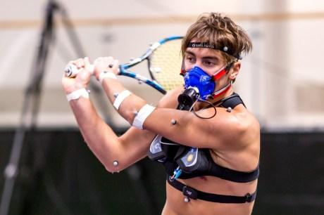 Portabel mätteknik avslöjar hur energikrävande tennis är 1