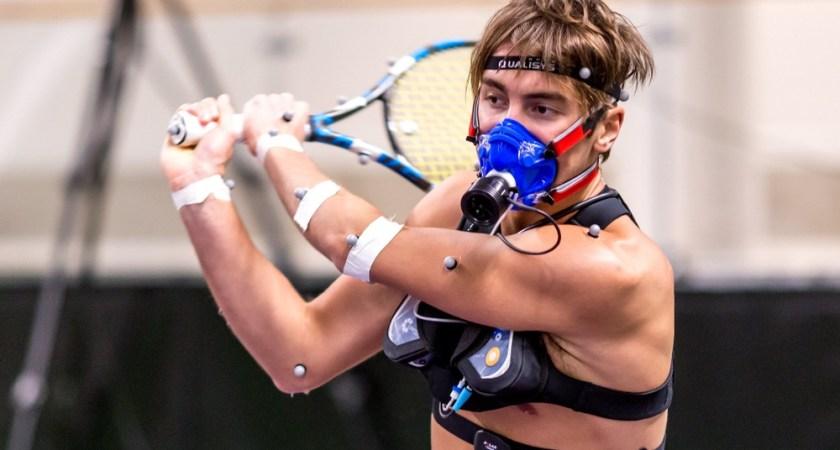 Portabel mätteknik avslöjar hur energikrävande tennis är
