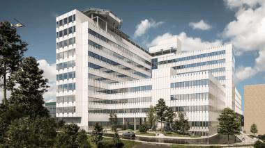 En ny modern vårdbyggnad blir verklighet vid Danderyds sjukhus 1
