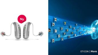 Nu lanserar Audika Oticon More – vår mest intelligenta hörapparat någonsin 1