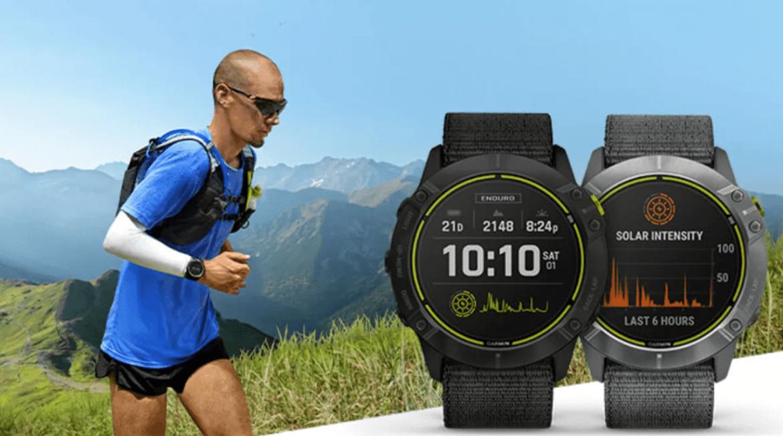 Atleter kan nu köra ultradistanser med Garmin Enduro