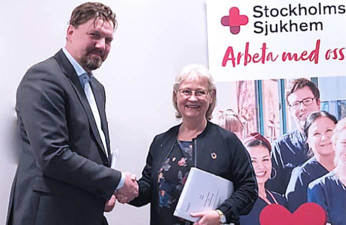 3-årigt samarbetsprojekt för innovationer i vården mellan Stockholms Sjukhem och Strikersoft