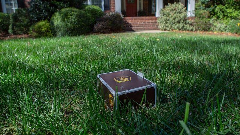 UPS första hemleverans med drönare har landat