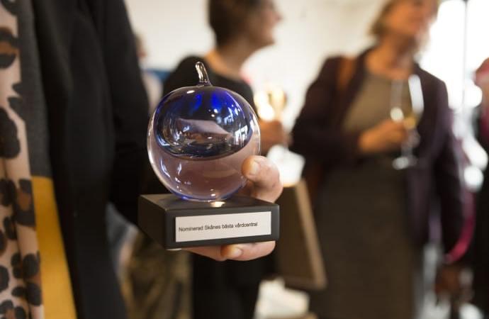 Välkommen att vara med när utmärkelsen Skånes bästa vårdcentral delas ut