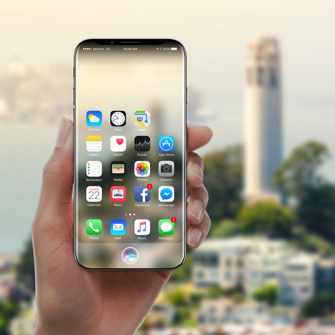 Всеть утекли новые рендеры iPhone 8