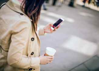 textingwalking