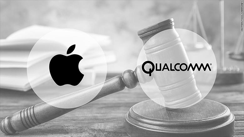 Qualcomm обвинила Apple враскрытии своего программного кода Intel