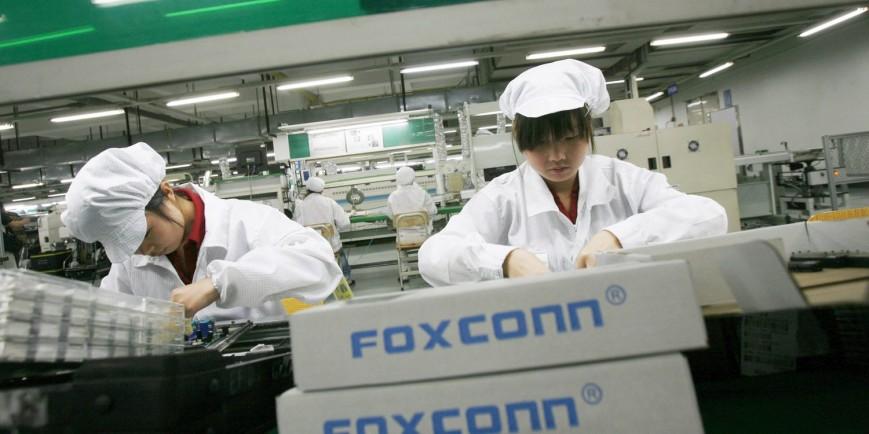 apple supplier foxconn showed dozens of