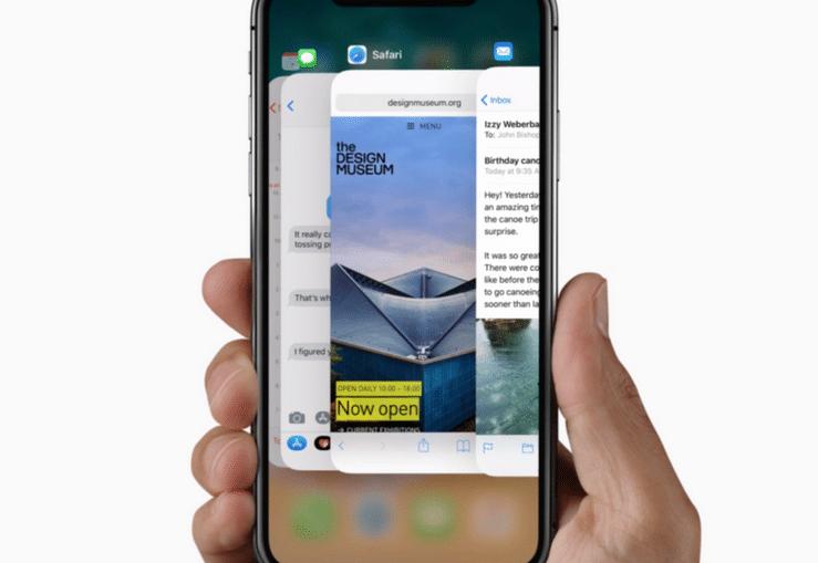iPhone-X-App-Switching