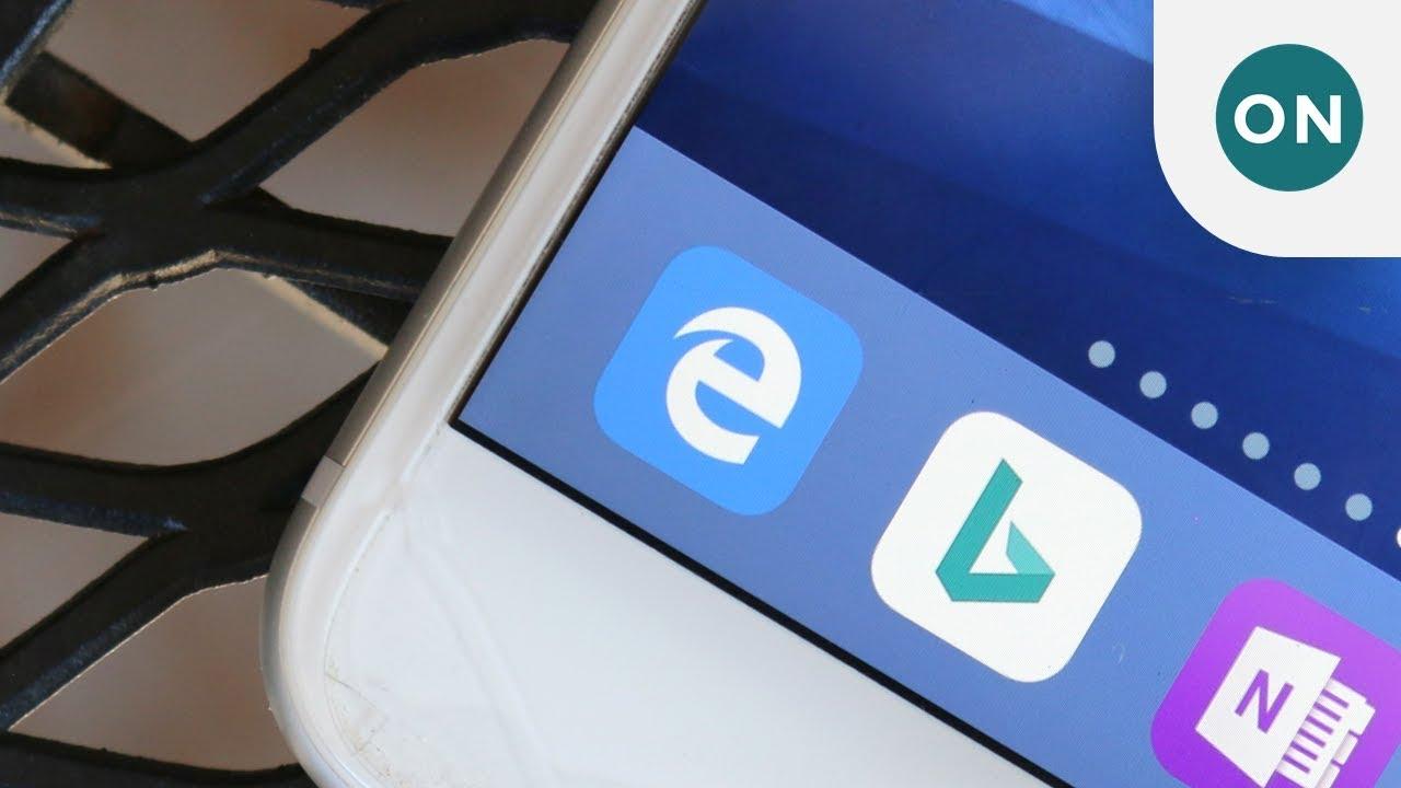 Microsoft Edge доступен для всех пользователей iPhone