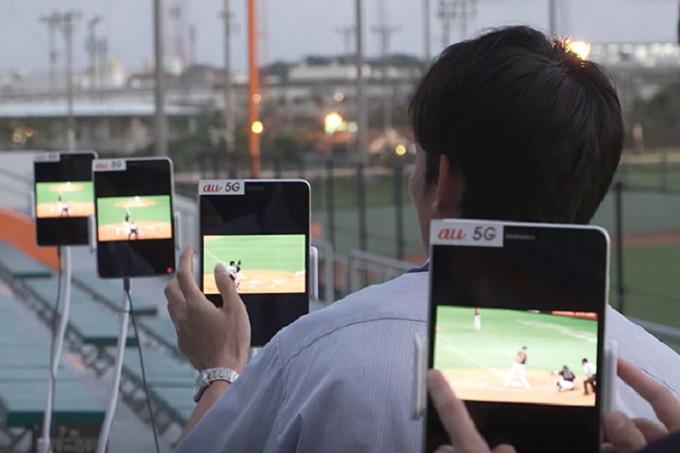 Samsung-KDDI-run-multi-device-5G-test-at-a-Japanese-ballpark-using-prototype-tablets