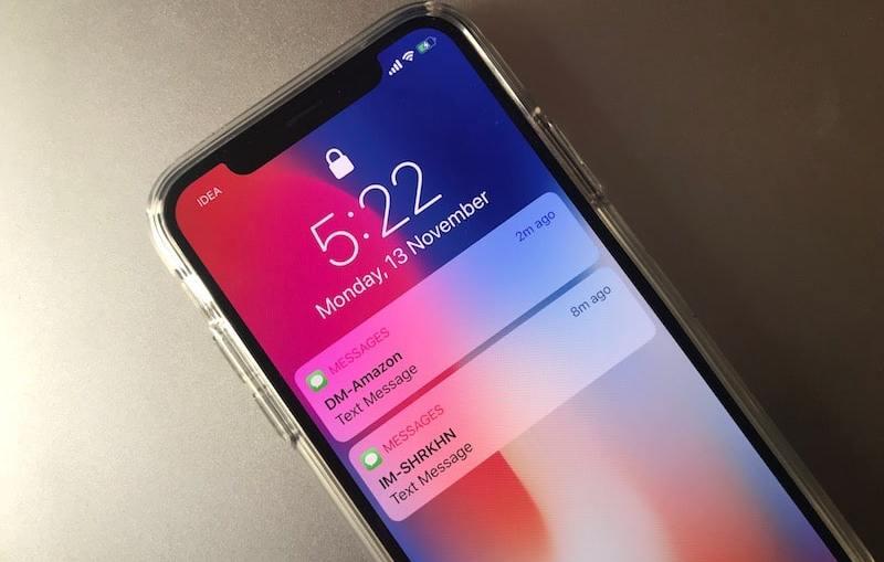 iPhone-X-Lock-screen-Notification