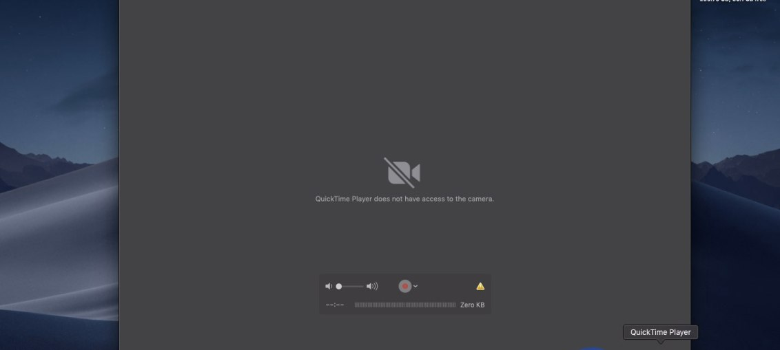 macOS-Mojave-QuickTime-Player-no-camera-permission
