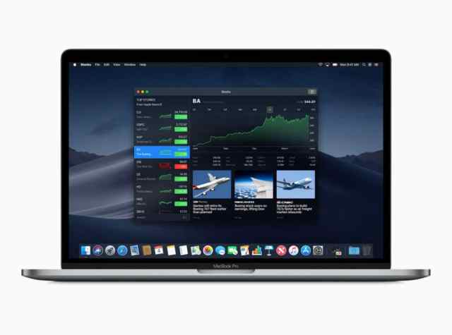 Stocks-app-macOS-Mojave
