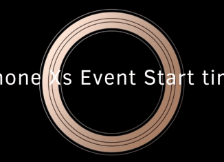 iPhone-Xs-event-start-time