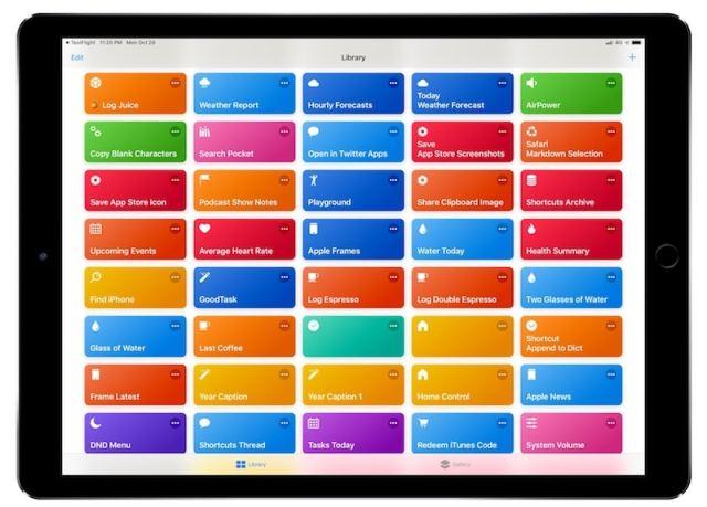 Shortcuts-iPad
