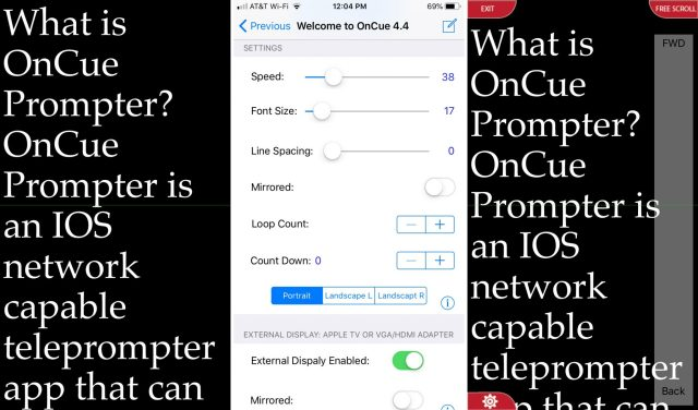OnCue-Prompter-on-iPhone