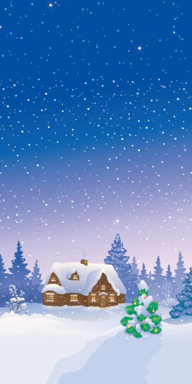 mountain-house-hut-vacation-home-snow-background-iphone-wallpaper-ongliong11-768×1536