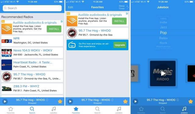 Simple-Radio-app-on-iPhone
