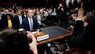 Facebook Privacy Scandal Congress, Washington, USA – 10 Apr 2018