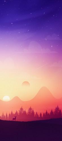 mountain-valley-iphone-wallpaper-axellvak-sunrise-deer